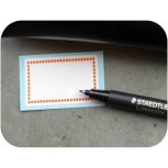Small writable stickers Stars