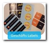 Für jedem Geschäft, Wetterfeste und UV feste Etiketten
