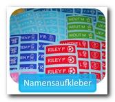 Robuste und praktische Namensaufkleber