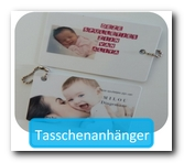 Tasschenanhanger mit Name oder Foto